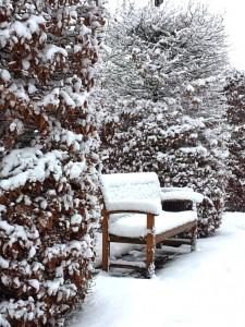 winter, tijd voor stilte en rust